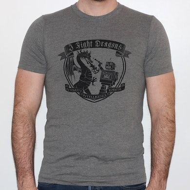 I Fight Dragons Crest T-Shirt