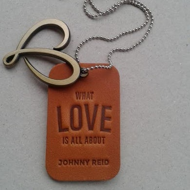 What Love Is All About Leather Necklace