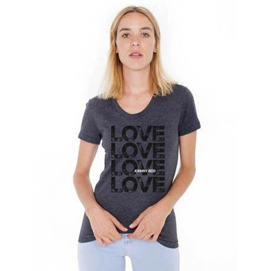 """Women's Scoop Neck """"Love"""" T-shirt"""