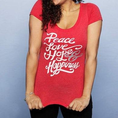 Johnny Reid Peace Love Hope & Happiness Tee