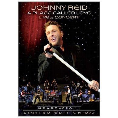 Johnny Reid A Place Called Love Live in Concert (DVD)