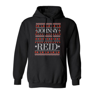 """Johnny Reid Unisex """"Fa La La La La"""" Hoodie"""