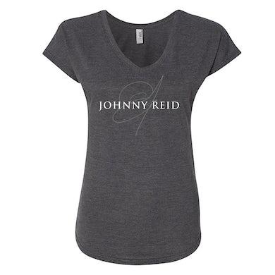 Johnny Reid Women's Signature V-Neck T-shirt