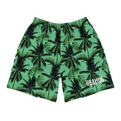 Gramps Morgan Palm Tree Long Shorts