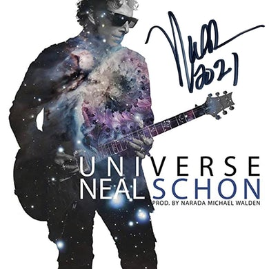 Neal Schon Limited Edition Signed Universe CD