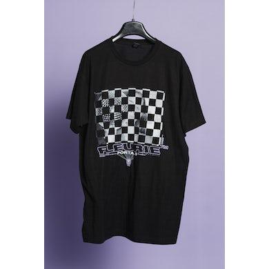 Black Checkerboard Tee
