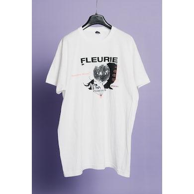Fleurie White Logo Tee