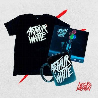 Combo - Arthur White - Camiseta + Taza + Disco firmado