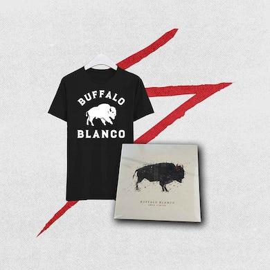 Combo - Buffalo Blanco - Camiseta + Vinilo