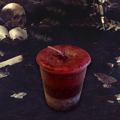 Vajra Shadow Queen Reiki Charged Aromatherapy Votive Candle