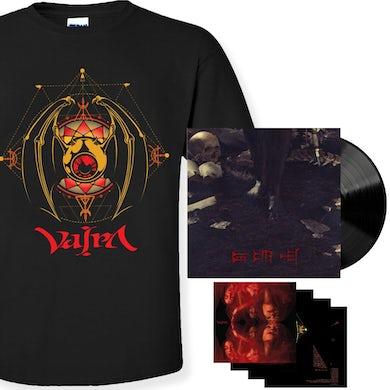 Vajra Irkalla Black Vinyl + Tee Bundle