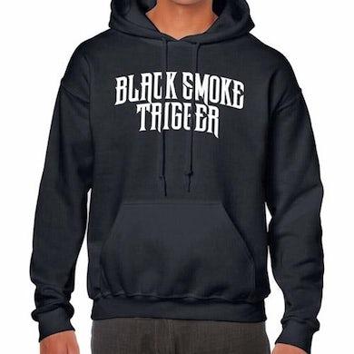 Black Smoke Trigger Logo Hoodie