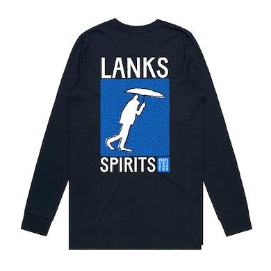 Lanks SPIRITS PT. 1 + 2 — NAVY L/S TEE