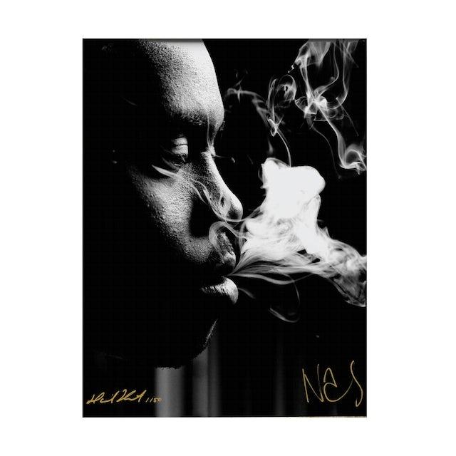 Wu-Tang Clan Signed Nas x Danny Hastings Print