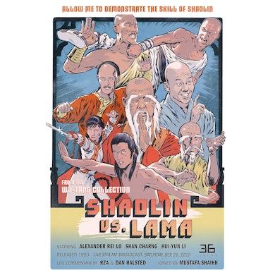Wu-Tang Clan 36 Cinema: Shaolin vs. Lama Poster