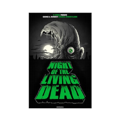 """Night of The Living Dead Poster from Alex Pardee (24"""" x 36"""")"""