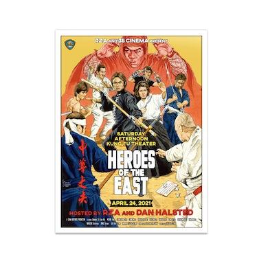 Wu-Tang Clan 36 Cinema: Heroes of the East Poster