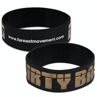 Far East Movement Dirty Bass Rubber Bracelet