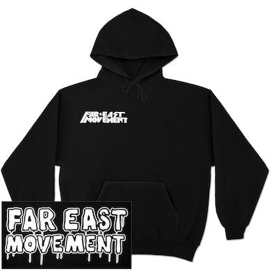 Far East Movement Logo Pullover Hoodie