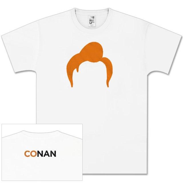 Team Coco Conan O'Brien Tour White Hair T-Shirt