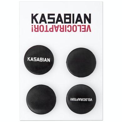 Kasabian Pin Badge Set