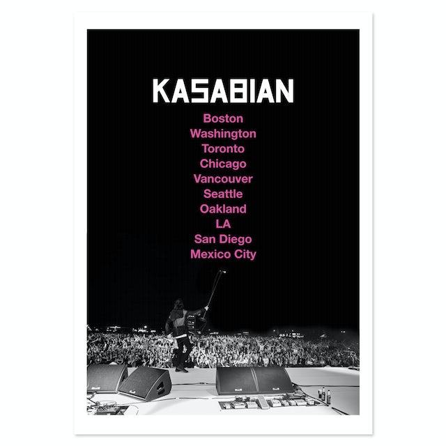 Kasabian US Tour 2014 Print Litho