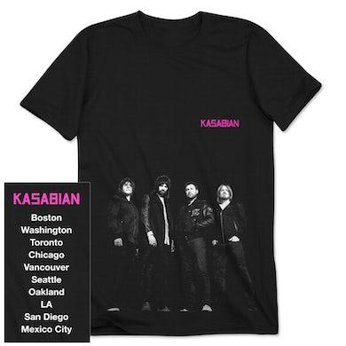 Kasabian New Group T-Shirt