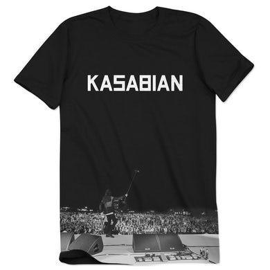 Kasabian Live Shot Logo T-Shirt