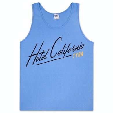 Tyga Hotel California Tank Top - Blue