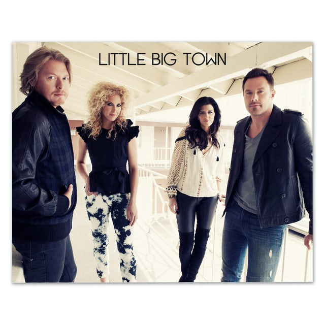 Little Big Town Landscape 8x10 Photo
