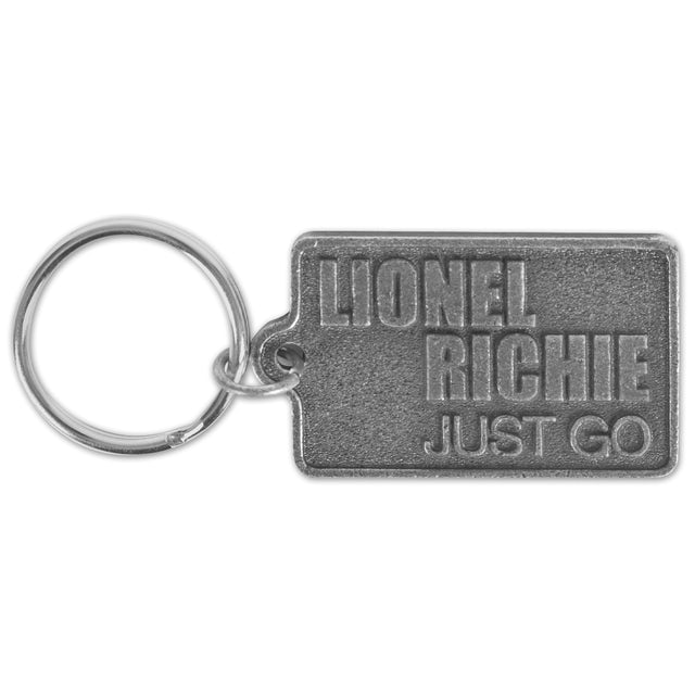Lionel Richie Just Go Keychain