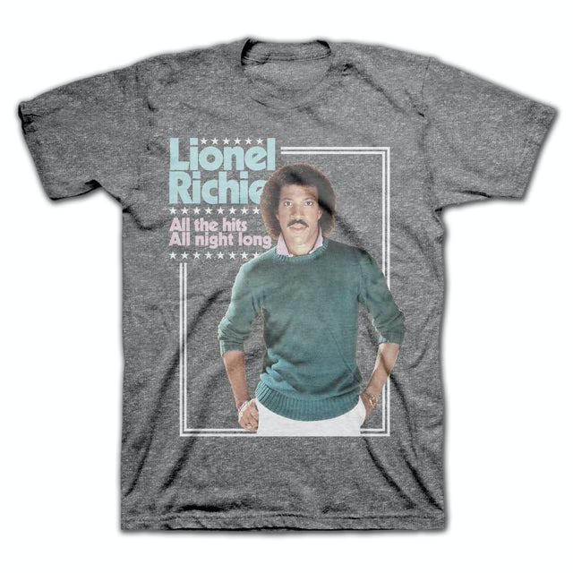 Lionel Richie All the Hits Vintage T-Shirt