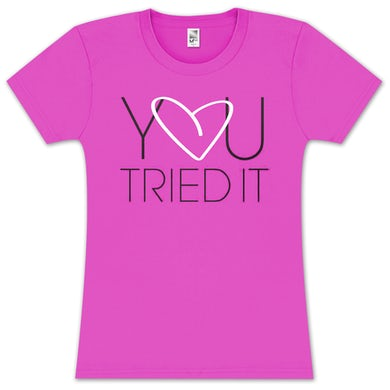 Tamar Braxton Tamar You Tried It Heart Girlie T-Shirt