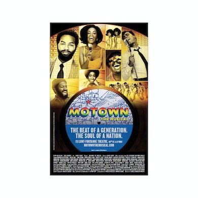 Motown The Musical 14x22 Window Card