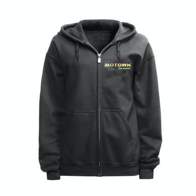 Motown The Musical Motown Zip Up Embroidered Hoodie