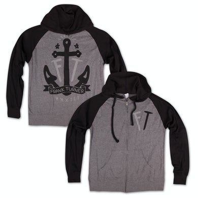 Frank Turner Initials Anchor Hoodie