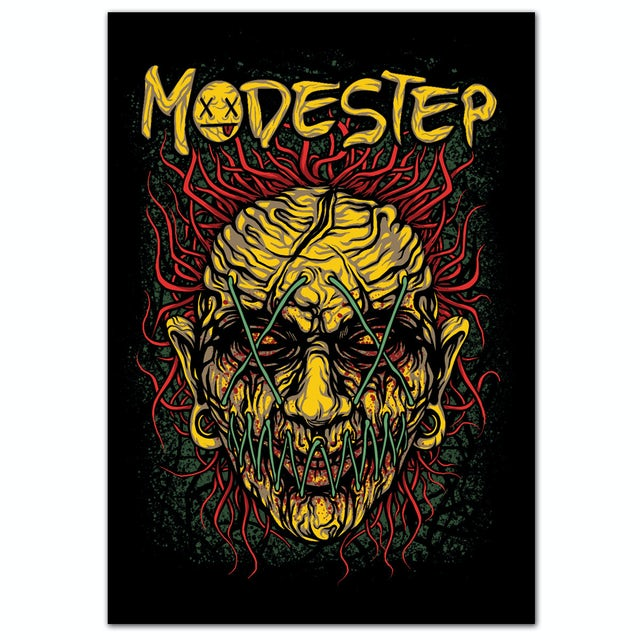 Modestep Stitched Face Poster