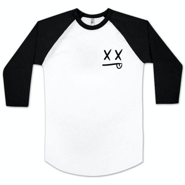 Modestep Smiley Raglan Baseball T-Shirt