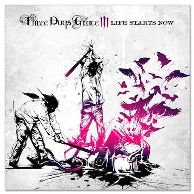 Three Days Grace Album Cover Sticker