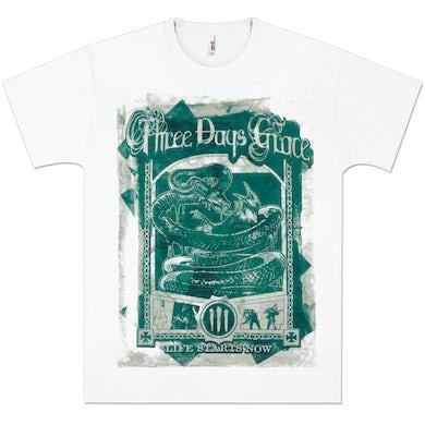 Three Days Grace Vintage Poster T-Shirt