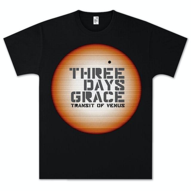 Three Days Grace Linear Sun T- Shirt