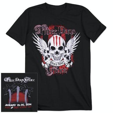 Three Days Grace 2014 Tour T-Shirt