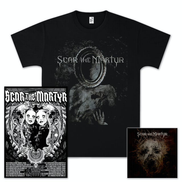 Scar The Martyr CD/T-Shirt/Poster Bundle