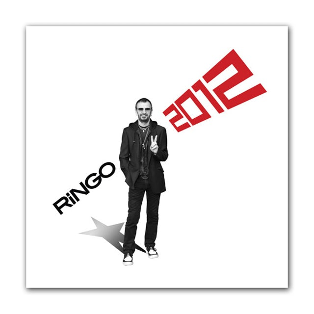 Ringo Starr Ringo 2012 CD