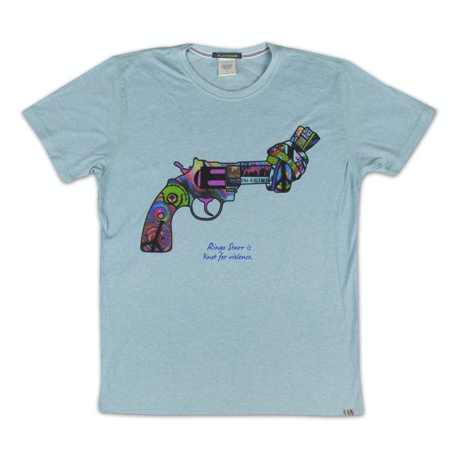 Ringo Starr Knot for Violence Ladies T-Shirt