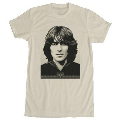 George Harrison Shepard Fairey Natural T-Shirt