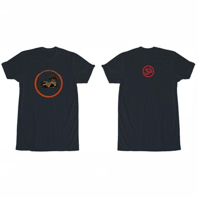 George Harrison 33 Horse Black T-Shirt