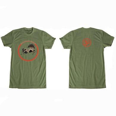 George Harrison Dark Horse Records Logo (Olive) T-Shirt