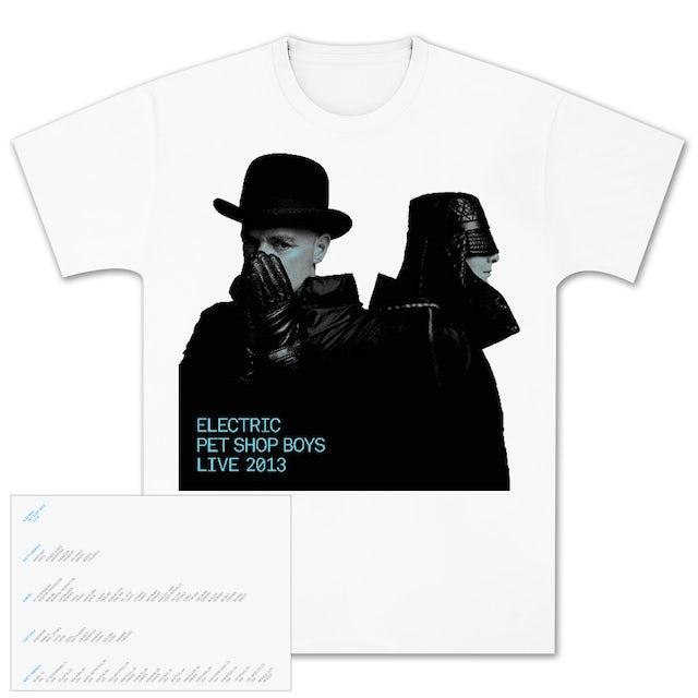 Pet Shop Boys Electric Portrait T-Shirt