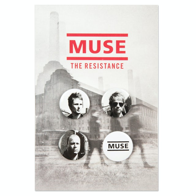 Muse Photo Button Set